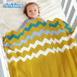 Mimixiong Baby Knitted Blankets 82W356