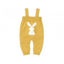 Mimixiong 100% Cotton Baby Knitted Sleeveless Rompers 82W613