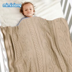 Mimixiong Baby Knitted Blankets 82W729