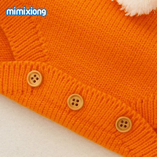 Mimixiong Baby Knitted Sleeveless Romper 82W280
