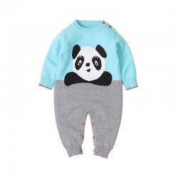 Mimixiong Baby Knitted Romper 82W297
