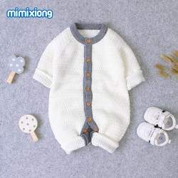 Mimixiong Baby Knitted Romper 82W321