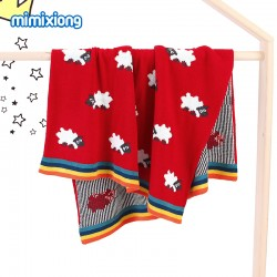 Mimixiong Baby Knitted Blanket 82W389