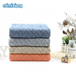 Mimixiong Baby Knitted Blanket 82W390