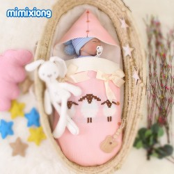 Mimixiong Baby Knitted Sleeping Bag 82W432