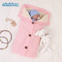 Mimixiong Baby Knitted Sleeping Bag 82W471