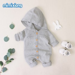Mimixiong 100% Cotton Baby Knitted Romper 82W499
