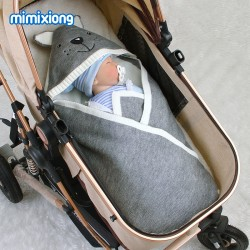 Mimixiong Baby Knitted Sleeping Bag 82W511