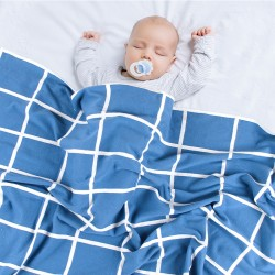 Mimixiong 100% Cotton Baby Knitted Blankets 82W521