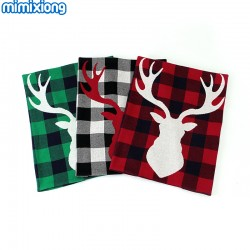 Mimixiong 100% Cotton Baby Knitted Christmas Blankets 82W541