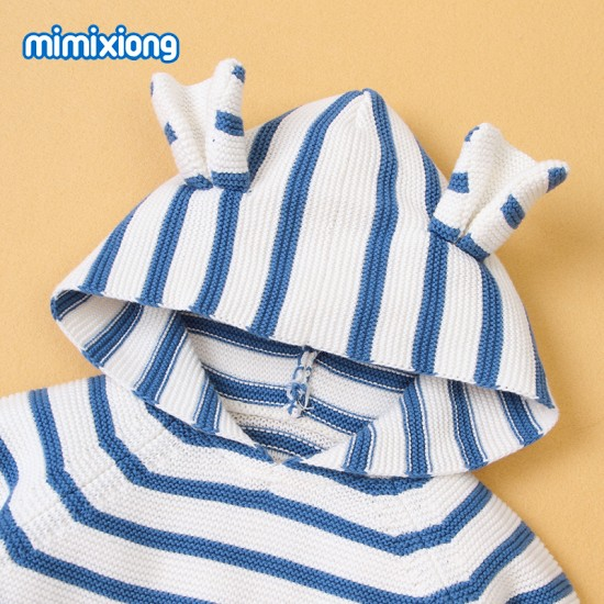 Mimixiong 100% Cotton Baby Knitted Sweater 82W573