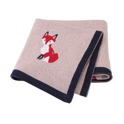Mimixiong 100% Cotton Baby Knitted Blankets 82W596