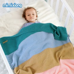 Mimixiong Baby Knitted Blankets 82W606