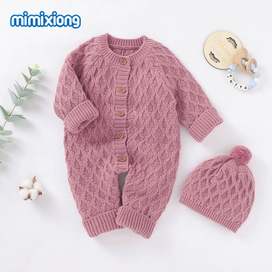Mimixiong Baby Knitted 2pc Clothing Set 82W633