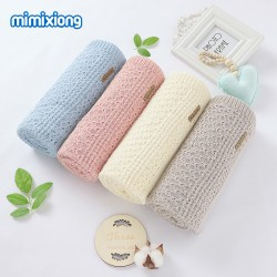 Mimixiong 100% Cotton Baby Knitted Blankets 82W637