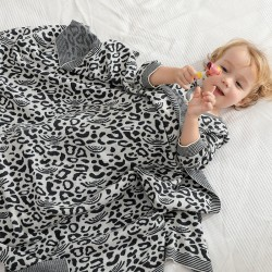 Mimixiong 100% Cotton Baby Knitted Blankets 82W655