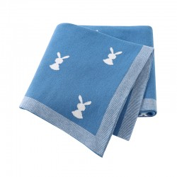 Mimixiong 100% Cotton Baby Knitted Blankets 82W669