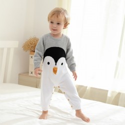 Mimixiong 100% Cotton Baby Knitted Romper 82W731