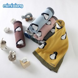 Mimixiong 100% Cotton Baby Knitted Blankets 82W786