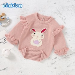 Mimixiong 100% Cotton Baby Knitted Sweater 82W859
