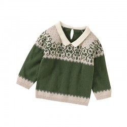 Mimixiong 100% Cotton Baby Knitted Sweater 82W862