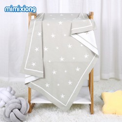 Mimixiong 100% Cotton Baby Knitted Blankets 82W886