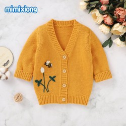 Mimixiong Baby Knitted Coats 82W639